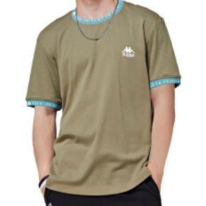 Kappa Green Ringer T Shirt